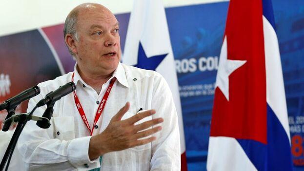 El ministro cubano de Comercio Exterior y la Inversión Extranjera, Rodrigo Malmierca. (EFE/Ernesto Mastrascusa/Archivo)