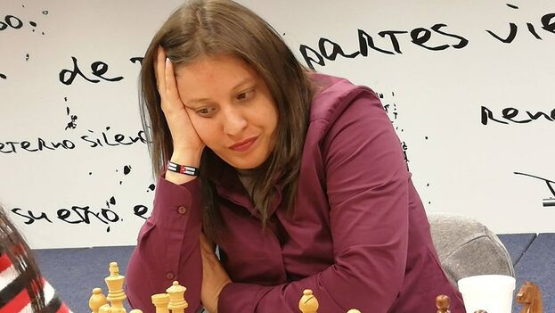 Jennifer Pérez fue campeona nacional cubana de ajedrez en 2006. (Cortesía)