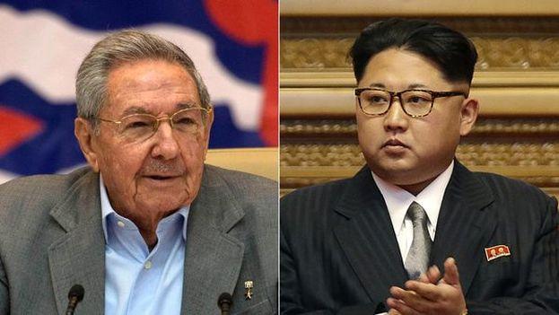 """Kim Jong-Un hizo llegar un mensaje """"verbal"""" al presidente cubano Raúl Castro, según comentó el Canciller de Corea del Norte de visita en Cuba. (Cubanet)"""