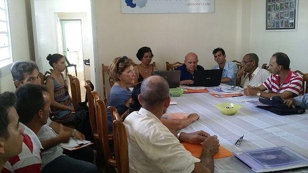 Jornada inaugural del Encuentro de Pensamiento para Cuba (Foto Miriam Celaya)