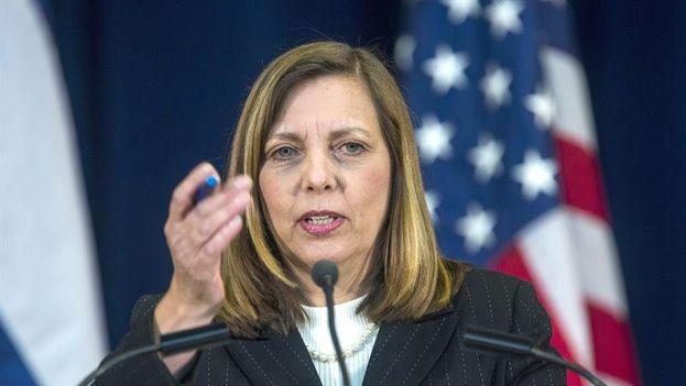 Josefina Vidal Ferreiro, directora general de Estados Unidos de la cancillería cubana