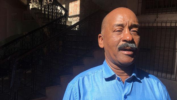 Juan Goberna, activista y miembro de la Red de Cultura Inclusiva Cuba. (14ymedio)