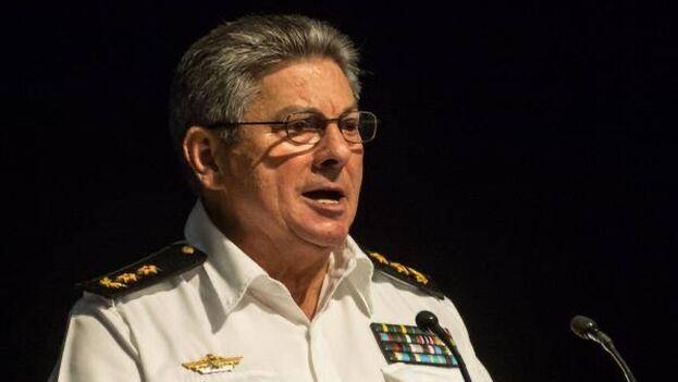 Julio César Gandarilla Bermejo, recién fallecido ministro del Interior de Cuba. (Minint)