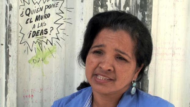 Karina Gálvez, editora de la revista Convivencia en Pinar del Río. (alongthemalecon)