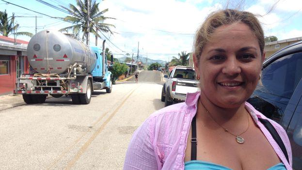 Katiuska Muñiz de Santa Cruz del Sur en Camagüey, en Cuba trabajaba en un Hospital Psiquiátrico (Foto Reinaldo Escobar/14ymedio)