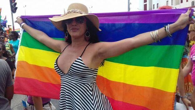 La artista Kiriam Gutiérrez estrenó 'Es mi vida' con motivo del Día Internacional contra la Homofobia. (Cortesía)