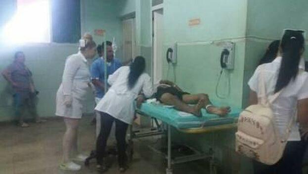Los lesionados son atendidos en los hospitales general docente Leopoldito Martínez de Mayabeque y en el clínico quirúrgico Miguel Enríquez de La Habana. (Cubadebate)
