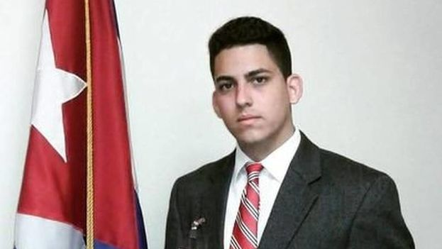 Félix Yuniel Llerena, estudiante expulsado del Instituto Superior Pedagógico Enrique José Varona de La Habana. (Cortesía)