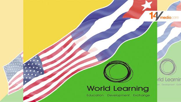 Logo de la campaña publicitaria del programa para jóvenes cubanos del World Learning. (14ymedio)