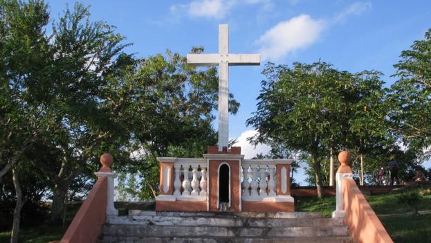 La Loma de la Cruz en Holguín. (14ymedio)