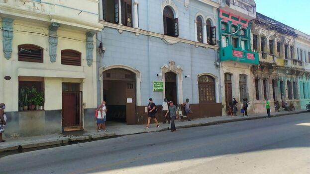 El brote se ubica en los alrededores del policlínico Manduley, en la barriada de San Leopoldo de Centro Habana. (14ymedio)