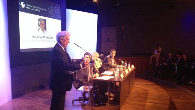 Mario Vargas Llosa en el Foro Atlántico