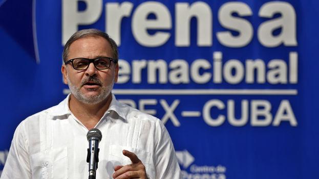 Eugenio Martínez Enríquez, director de América Latina y el Caribe del Minrex, rechazó las declaraciones de Luis Almagro. (EFE/Archivo)