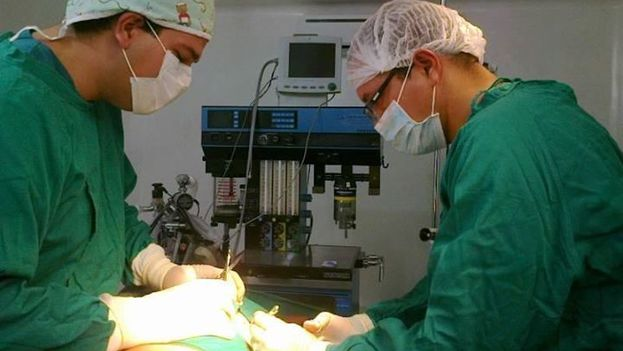 Médicos cubanos en Ecuador. (Facebook)