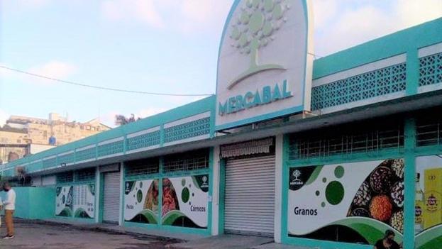 Mercado Mayorista de Alimentos (Mercabal) en La Habana. (14ymedio)