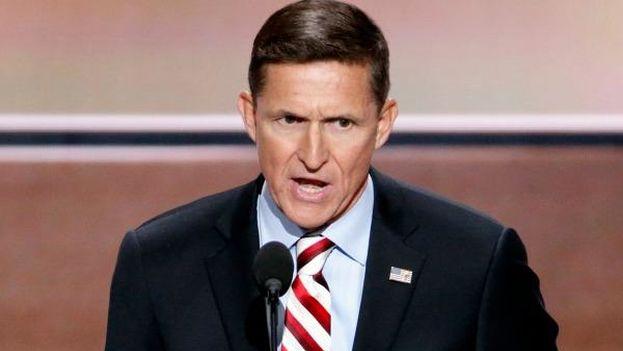 Michael Flynn, exasesor de seguridad nacional del presidente Donald Trump. (EFE)