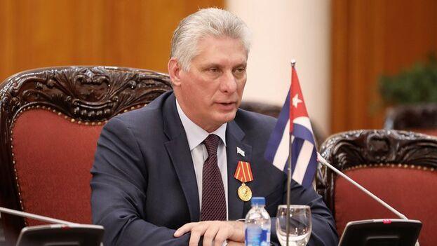 El presidente cubano Miguel Díaz-Canel aboga por una relación constructiva con EE UU tras la victoria de Biden. (EFE/Luong Thai Linh)