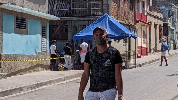 Es la primera vez que en la Isla supera los 10.000 casos activos de la enfermedad, según los datos del Ministerio de Salud Pública. (El Chago-Santiago de Cuba/Facebook)
