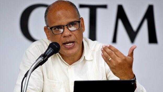 El director de relaciones internacionales del Ministerio de Ciencia, Tecnología y Medio Ambiente, Jesús Guerra. (EFE/Ernesto Mastrascusa/Archivo)