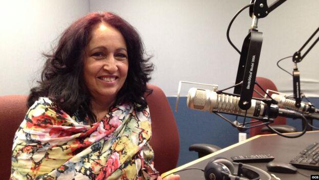 Miriam Celaya se ha sumado este viernes a la lista de ciudadanos regulados sobre los que pesa una prohibición de salida de Cuba. (Radio Martí)