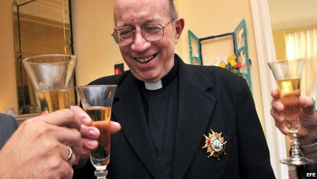 Monseñor Carlos Manuel de Céspedes. (EFE)