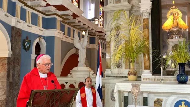 Monseñor Dionisio García Ibáñez, arzobispo de Santiago de Cuba. (Arzobispado)