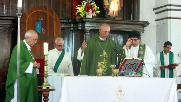 Monseñor Giorgio Lingua, nuncio apostólico en Cuba. (14ymedio)