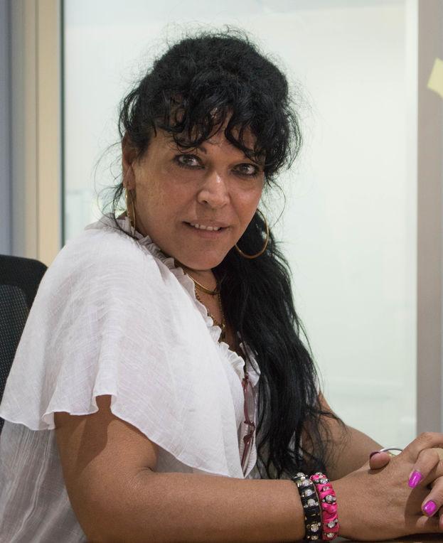 Sisi Montiel, (Michele Hernández Sánchez) es una mujer trans, presidente de la red Trans Fantasía. (Milkos D. Sosa)
