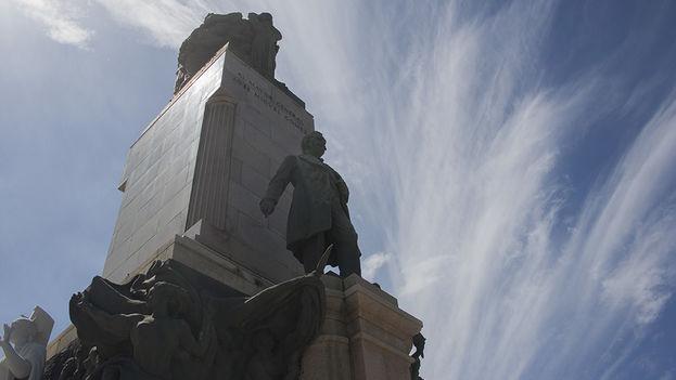 Monumento al general restaurado. (14ymedio)