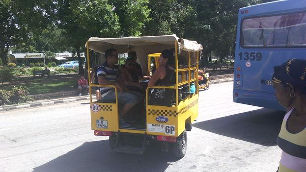 Mototaxis de procedencia china que circulan desde hace algunas semanas en Camagüey