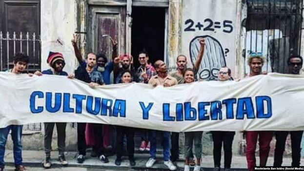 El régimen no calculó el apoyo silencioso con que cuenta el Movimiento San Isidro entre los jóvenes y no creyó en la capacidad de convocatoria y organización de las redes sociales. (MSI)