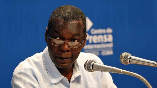 El subdirector de Asuntos Multilaterales y Derecho Internacional del Ministerio de Relaciones Exteriores de Cuba (Minrex), Pedro Luis Pedroso. (EFE)