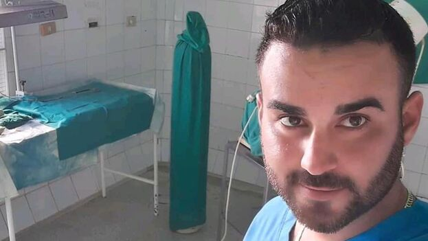 Manuel Guerra trabaja en el Hospital Municipal Nicodemus Regalado de Buenaventura, en el municipio Calixto García, de Holguín. (Facebook)