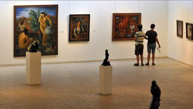 Museo Nacional de Bellas Artes de Cuba, en La Habana. (EFE)