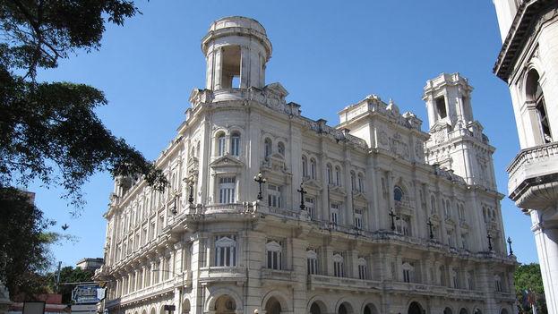 Museo Nacional de Bellas Artes que en los tiempos de la República hospedó el Centro Asturiano en La Habana. (14ymedio)