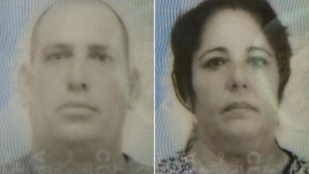 Los cubanos Reinaldo Delgado Díaz, de 45 años, y su esposa Niurka García Roque, de 46, fallecidos en el accidente automovilístico. (CC)