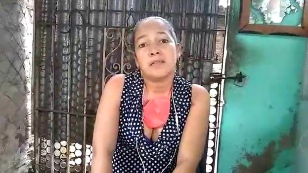 Niurkis Padilla Ortega fue arrestada en la noche del 10 de febrero de 2019 cuando caminaba cerca del Hotel Santiago. (14ymedio)