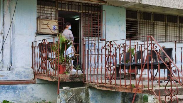 Notaría de la calle 20 de Mayo, La Habana. (14ymedio)