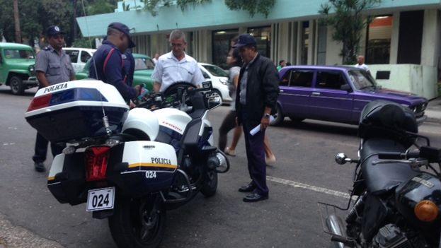 Nuevas motos para la policía. (14ymedio)