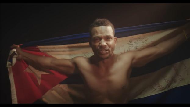 Obsorvo participó en el videoclip del tema 'Patria y Vida'. (Captura)
