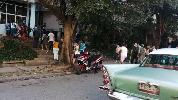 Oficina de Registro de Consumidores en Nuevo Vedado, La Habana, este viernes. (14ymedio)