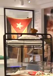 'Operación Pedro Pan' se exhibe en el Museo de la Diáspora Cubana. (Captura)