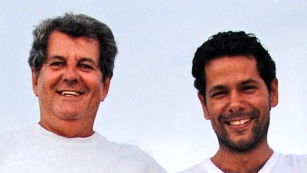La misa por Oswaldo Payá y Harold Cepero se celebró este domingo en la ermita del Cobre de Miami. (RosaMariaPaya)