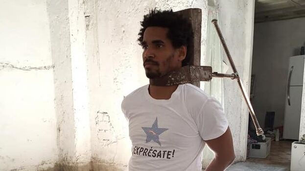 Otero Alcántara lleva más de dos semanas con un operativo de la Seguridad del Estado que rodea su vivienda para impedirle salir. (Facebook)