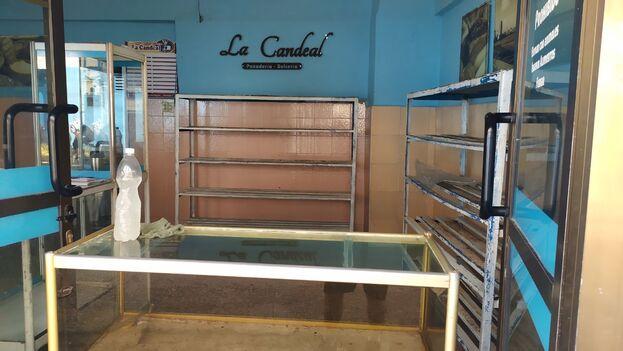 Panadería La Candeal, en La Habana, este miércoles. (14ymedio)