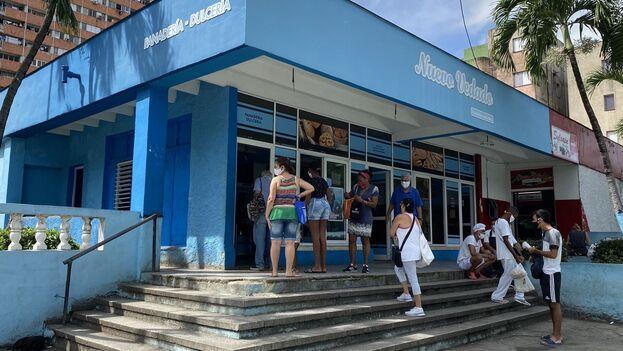 Panadería Nuevo Vedado en La Habana. (14ymedio)