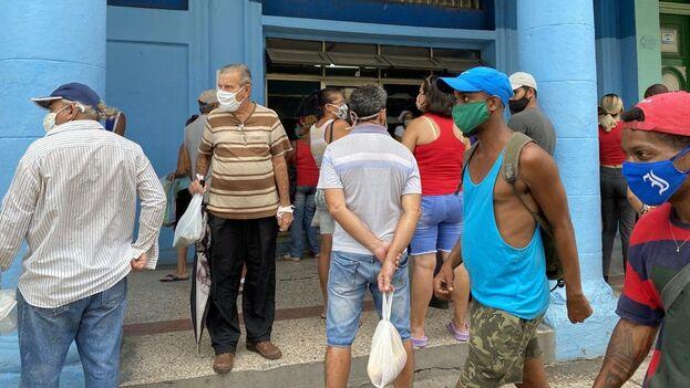Panadería de la calle Infanta, Centro Habana. (14ymedio)