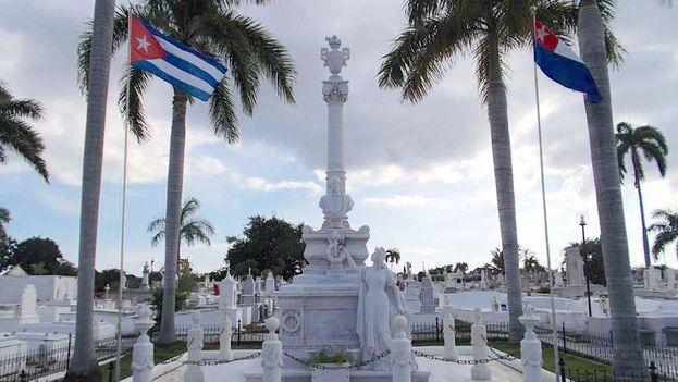 Panteón de Carlos Manuel de Céspedes en el cementerio de Santa Ifigenia, en Santiago de Cuba. (Convivencia)