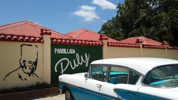 La Parrillada de Puli era un lugar muy visitado en la región oriental. (14ymedio)