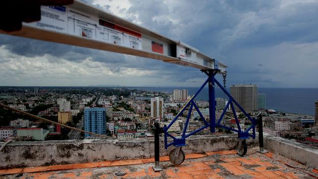 Parte de La Habana vista desde una azotea (Foto Silvia Corbelle)